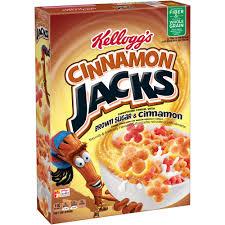 Breakfast Food Cereal Walmart Com by Kellogg U0027s Cinnamon Jacks 10 7 Oz Walmart Com