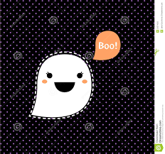 cute halloween ghost pictures cute kawaii halloween ghost royalty free stock photo image 33274025