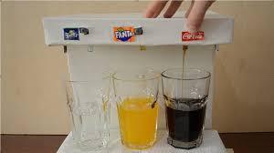 how to make coca cola fanta and sprite machine at home diy