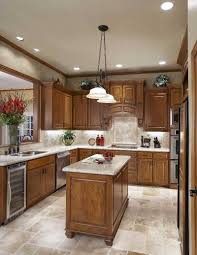 Cathedral Ceiling Lighting Ideas Suggestions by Kitchen Island With Recessed Lighting Also Pendant Decor In