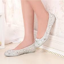 wedding shoes for wide 2015 new fashion silver slipper wedding shoes for women handmade