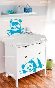 stickers panda chambre bébé panda pour bébé