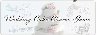 wedding game wedding cake charm jpg