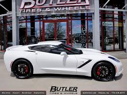 2014 corvette stingray wheels 2014 chevy corvette c7 stingray with 20in front and 22in r flickr