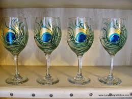 wine glass painting cute painted wine glasses photo albums fabulous homes interior