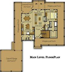floor plans with porches 3 bedroom open floor plan with wraparound porch and basement