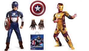 Captain America Halloween Costume Kids 26 Marvel Avengers Captain America Kids Costume