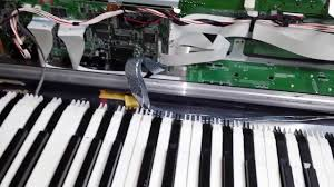roland xv 88 key repair diy youtube