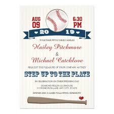baseball wedding invitations personalized baseball wedding invitations custominvitations4u