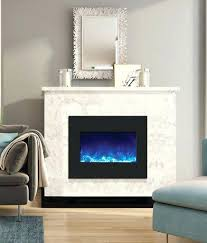 Electric Fireplace Insert Electric Fireplace With Glass Rocks Ice Electric Fireplace Insert