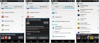 android helium cloud backup and restore which includes dropbox