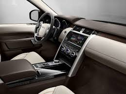 black land rover interior brighten up modern light leather and wood trims contrast with
