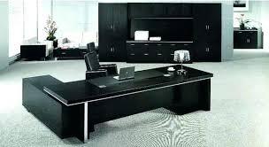 Black Office Desk Furniture Luxury Office Desk Wiredmonk Me