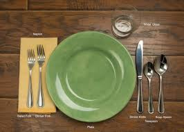 uncategories restaurant table setting correct way to set a table