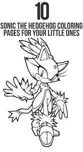 coloring pages of sonic free printable sonic the hedgehog coloring