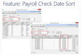 hr u0026 payroll dynamics gp 2013 service pack 2 feature
