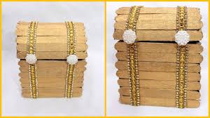 how to make jewellery box at home i ice cream stick multipurpose