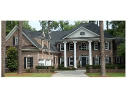 traditional two story house plans traditional two story brick home custom house designs by lang