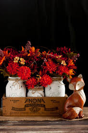 jar centerpiece diy jar centerpiece for fall