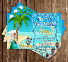 novel concept designs frozen summer party birthday party