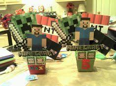 Minecraft Party Centerpieces by Minecraft Centerpieces Party Ideas Pinterest Craft