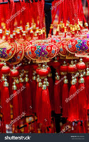 chinese new year ornaments on sale stock photo 366180044