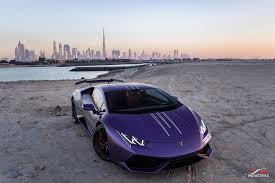 Photoshoot Matte Purple Lamborghini Huracán From Dubai My Car