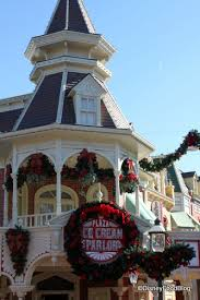 main street ice cream parlor christmas decorations the disney