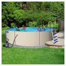 Deep Backyard Pool by Swimming Pools U0026 Water Slides Sports Outdoors Target