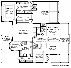 Center Hall Colonial Floor Plans Plan Book