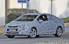 opel sedan spied new opel astra sedan chevy cruze or something else