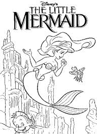 Coloring Pages Of The Little Mermaid Little Mermaid Coloring Pages H2o Coloring Pages