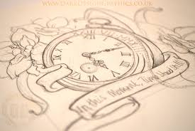 pocket watch tattoo design dark design graphics graphic design