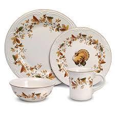thanksgiving dinnerware sets