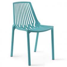 chaise bleue chaise plastique bleue pas chère mobeventpro