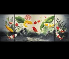 feng shui fish koi fish painting koi fish painting koi painting feng shui