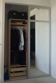 Doors Closet Mirrored Closet Doors Custom Mirrored Closet Doors For Home