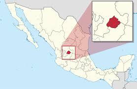 aguascalientes map mexico