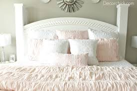 Pink And White Bedrooms - our new white pink and grey bedroom decorchick