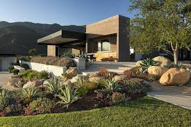 Landscape Architecture Ideas For Backyard Modern Landscape Design Ideas In The Backyard Of Modern House