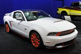 2011 Mustang V6 Interior Sema 2010 Ford Custom Accessories 2011 Mustang Mustangs Daily
