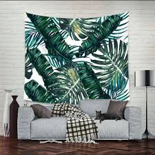 Bedroom Tapestry Wall Hangings Aliexpress Com Buy Banana Forest Scenery Mandala Tapestry Wall