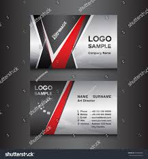 silver black business card design template stock vector 336083588