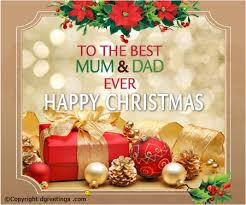 mum u0026 dad christmas family card