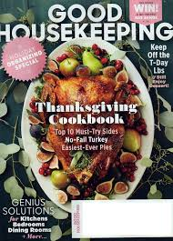 housekeeping magazine november 2016 thanksgiving cookbook