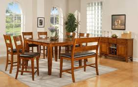 Tall Kitchen Table by Bench Rectangle Kitchen Table With Bench With Amazing Tall