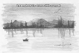 pictures natural disaster pencil sketch and shading drawing