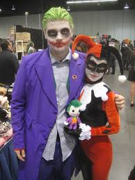 the joker and harley quinn halloween costumes file am2 con 2012 the joker and harley quinn 14004571584 jpg