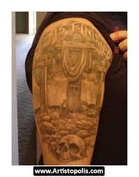 three cross tattoos 07
