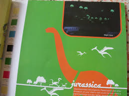 maxinfo kids room color idea asian paints jurassica glow theme